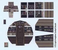 Millennium Falcon Photoetch and Decal Set by Paragrafix for the Scale Model Kit from Fine Molds / Revell (Master Series)-Millennium Falcon Photoetch scale Add super-detailed photoetched parts to the scale Millenium Falcon model kit Star Wars Furniture, Millennium Falcon Model, Star Wars Room, Star Wars Vehicles, Star Wars Models, Star Wars Ships, Star Wars Party, Paper Models, Model Building