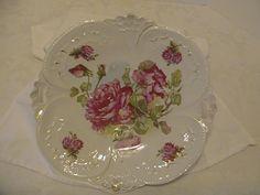 antique dishes | BEAUTIFUL ANTIQUE PORCELAIN T.L. BAVARIA SERVING DISH!