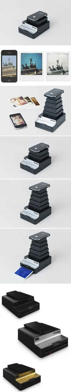 The Impossible : Instant Lab Smartphone Printer