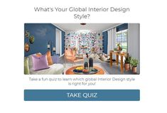 What's Your Global Interior Design Style? Take the Quiz - Northern Lights Home Staging and Design Interior Design Advice, Interior Styling, Interior Decorating, Colour Consultant, Design Consultant, Colorful Decor, Colorful Interiors, Home Staging Tips, Virtual Staging