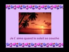 Je t'aime beaucoup -- Jacquot (French version of Skinnamarink --Sharon, Lois & Bram)