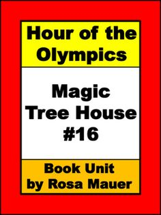 Hour of the Olympics Magic Tree House 16 by Mary Pope Osborne: Receive 7 reading comprehension questions for each chapter in task card and worksheet formats. Questions begin with who, what, when, why, where, and how. Response forms for students and answers for the teacher are provided.Book extension printables to enhance common core skills are also included.