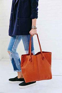 Simple + Modern Vegan Tote Bag - Urban Outfitters