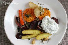 Ofengemüse mit Kräuterquark + Gewinner!