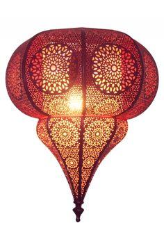 Orientalische Wandlampe Wandleuchte Malha - Pink
