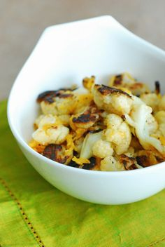 The Best Roasted Cauliflower of Your Life - I promise!