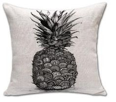 New Sketch Pineapple Cotton Linen Cushion Pillow Home Decor