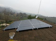 Impianto fotovoltaico ad OSIMO da 5,00 kWp su copertura - 20 moduli in SILICIO POLICRISTALLINO da 250 Wp - UTILIZZO di OTTIMIZZATORI di POTENZA (SOLAREDGE)