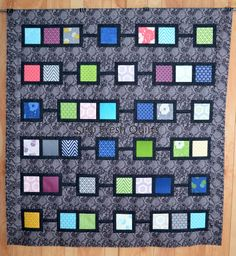 The quilting on this is so beautiful!  Sew Fresh Quilts: Quilt Along 2014 & a finish!