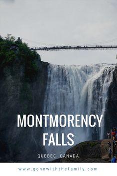 Montmorency Falls, Quebec, Canada...