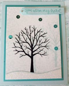Sheltering Tree - Swap card for Occasions Cattie