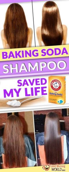 Baking soda is an incredibly easy way to clean your hair! It sounds shocking but you'll see the results the moment you decide to try it! Regular shampoos can contain a lot of harmful ingredients. Some