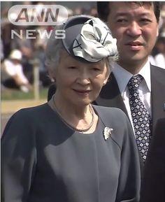 Empress Michiko, June 2, 2014   Royal Hats