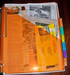 138 best organizing recipes images diy recipe book bricolage cookbook template. Black Bedroom Furniture Sets. Home Design Ideas