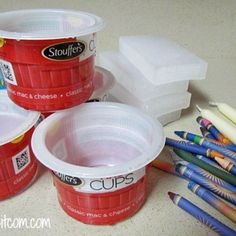 Don't throw away that yogurt container! You're totally going to want to save it after seeing this.