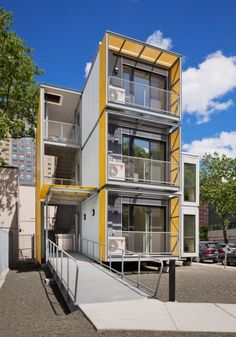Completely furnished New York city disaster modular housing deploys in 15 hours.
