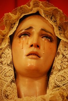 """you have grown accustomed to discovering all the ways you can make the pain intangible, unrecognizable — Olivia Gatwood, from """"The Ritual,"""" New American Best Friend Blessed Mother Mary, Blessed Virgin Mary, Religious Images, Religious Art, Religious Icons, La Passion Du Christ, Religion, Mama Mary, Our Lady Of Sorrows"""