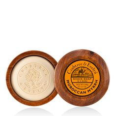 """This Crabtree and Evelyn """"Moroccan Myrrh"""" stuff is fantastic. Can't get enough of the scent. I have the shave soap, want all the rest of it."""