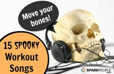 15 Halloween Workout Songs to Burn Off Candy Calories! | via @SparkPeople #Halloween #candy #workout #fitness #health #wellness #fall #workoutsongs #playlist