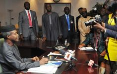 VP Osinbajo: We'll Work Closely With Nigerian SMEs To Raise Exportation Levels   OFFICE OF THE VICE PRESIDENT Vice President Yemi Osinbajo restated the readiness of the Federal Government under the leadership of President Muhammadu Buhari to partner with SMEs and local exporters to address some of the bottlenecks and obstacles in their business particularly access to finance. He spoke with reporters on Friday after going round various exhibition stands at the on-going SME Conference 2016 in…