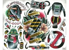 Image of Ghost Busters Flash Sheet