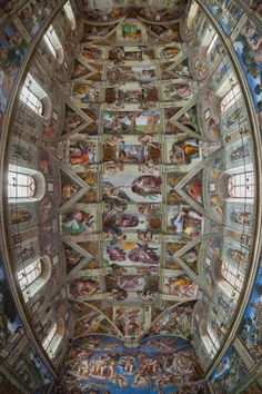 Masterpiece by NEOkeitaro La Cappella Sistina - Sistine Chapel in Vatican City 15 August 1483                                                                                                                                                                                 Más