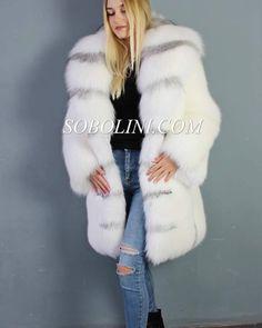 Fox Fur Coat, Fur Coats, Great Women, Faux Fur, Womens Fashion, How To Wear, Jackets, Dresses, Nice