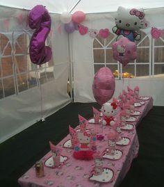 hello kitty birthday party ideas   Hello Kitty Party   Flickr - Photo Sharing!