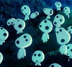 Studio Ghibli GIFs ~ Kodama