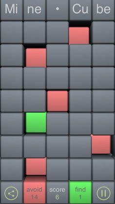 Try this #free #iOS #game! How many #cubes will you #find? - #MineCube, https://appsto.re/ru/43Nh3.i