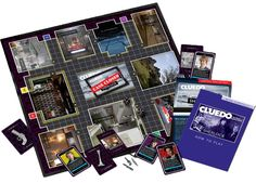 """""""Sherlock"""" Cluedo: Sherlock Edition at BBC Shop - yes, yes, this needs to be in my life."""