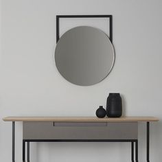 Edna wall hung mirror by MannMade London