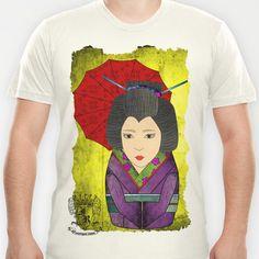 Geisha Matryoshka T-shirt