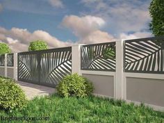Unutterable fence ideas,Wooden fence in spanish and Modern fence gate design. Fence Doors, Fence Gate, Front Fence, Entrance Gates, Garage Doors, Front Doors, Front Yard Fence Ideas Curb Appeal, Horse Fence, Aluminum Fence