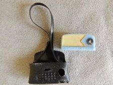 Miniature 1950s Barbie Tammy Transistor Radio W/ Shoulder Carry Case JAPAN
