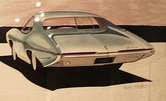 Sharf now has thousands of car drawings, mostly from the 1930s through the 1960s.