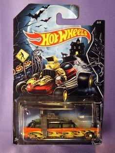 HOT WHEELS HALLOWEEN KROGERS GHOST BUSTERS MOVIE DIECAST CAR  1:64   #HotWheels