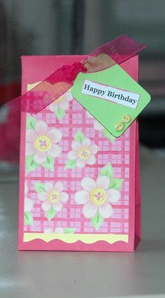 girl party candy bag