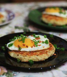 Smoked fish and mashed potato cakes