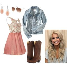 13 cute country dresses, 25 best ideas about country girl dresses on Cute Country Dresses, Country Girl Outfits, Rodeo Outfits, Country Wear, Country Girl Style, Country Fashion, Western Outfits, Country Girls, Love Fashion