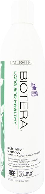 Biotera Naturelle Long & Healthy Rich Lather Shampoo 500ml