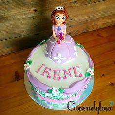 Tarta de La Princesa Sofía para Irene | Sofia Princess cake - Ñam, Ñam!!!