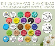 CHAPAS DIVERTIDAS - Eventos IlustradosEventos Ilustrados
