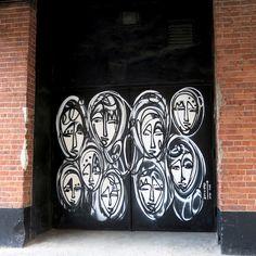 NYC's Expressive Doors, Part IV: Ewok, Mor, David Shillinglaw, Jordan Betten, Stikki Peaches, Alice Mizrachi, Jerkface, LMNOP and Ludo