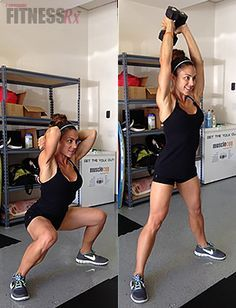 Save Time with Combination Exercises - Plus fat-burning workout. I'll totally use these on those days when I teach Zumba and don't want to spend an extra hour in the gym!