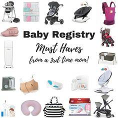 Baby Registry Must H