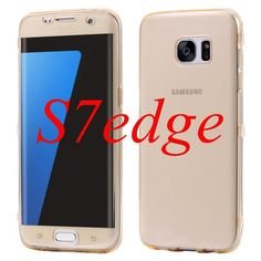 S7 S7edge Ultra Thin Soft Clear TPU Flip Cover For Samsung Galaxy S7 S7 Edge Case Transparent Silicone Gel Phone Bags Coque Capa