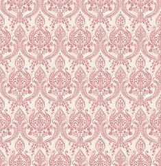 Assam Damask Red wallpaper by Albany