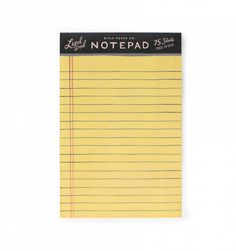 Legal Tear-Off Notepad