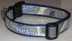 Recycled Beer Label Dog Collar